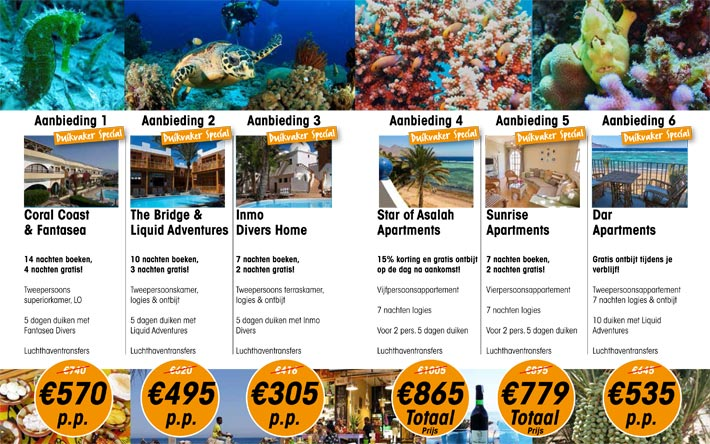 Sea More Travel Duikvaker Specials
